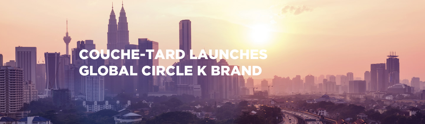 Couche-Tard Launches Global Circle K Brand image